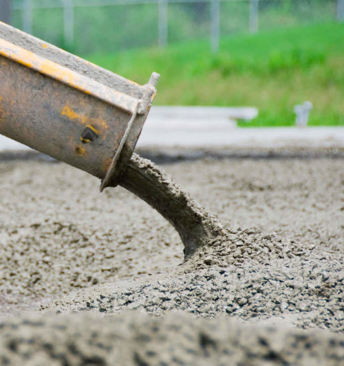 Slika prikazuje beton